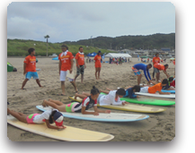 ONJUKU海のスポーツ体験会